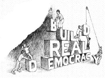 Building a better democracy.