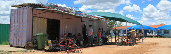 Bicycle Empowerment Centre, Namibia