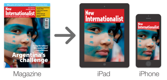 We'd like to convert our magazine into an iPad and iPhone app.
